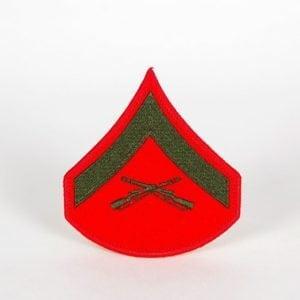 PATM6103L_Lance-Corporal-E-3-Olive-on-Red