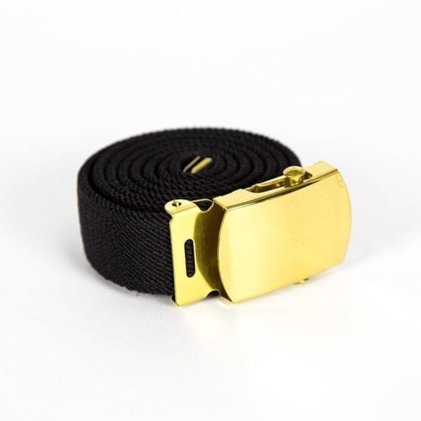 UEBB2001F_Buckle-wTip-Brass-wBlack-Elastic-Belt-Army-Women